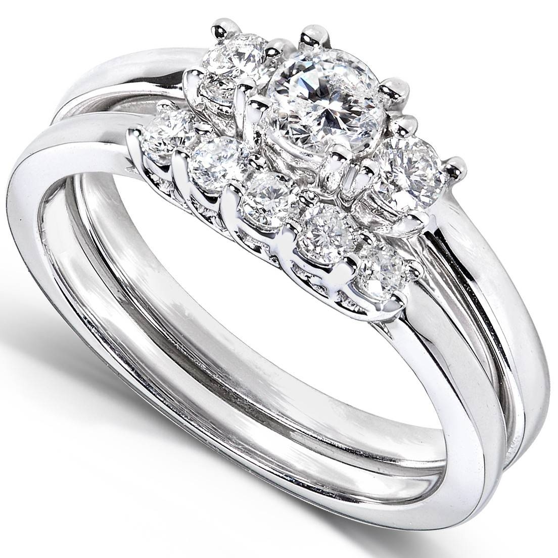 Wedding Diamond Rings | Wedding, Promise, Diamond, Engagement Inside 4 Diamond Wedding Bands (View 14 of 15)