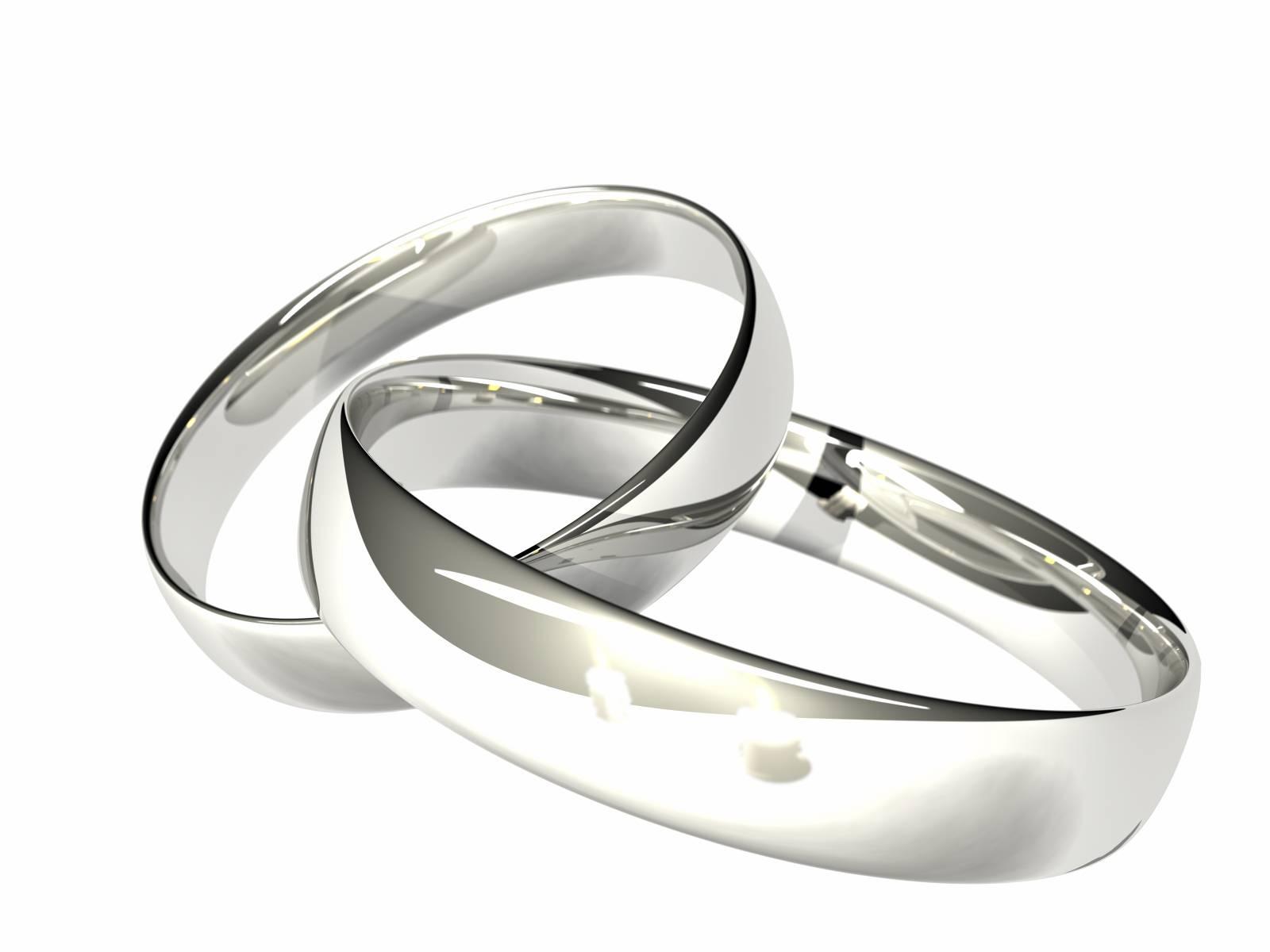 Wedding Pictures Wedding Photos Silver Wedding Rings Pictures For Silver Wedding Bands (Gallery 3 of 15)