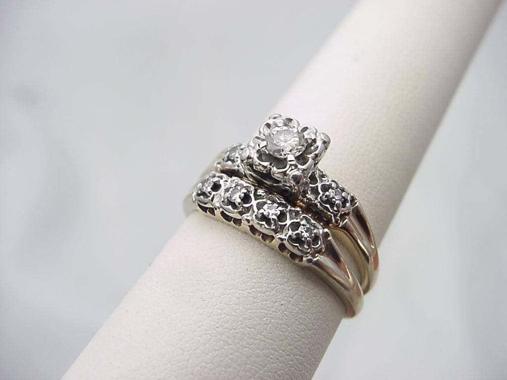 Wedding Ring Set In Estate Wedding Rings (View 10 of 15)
