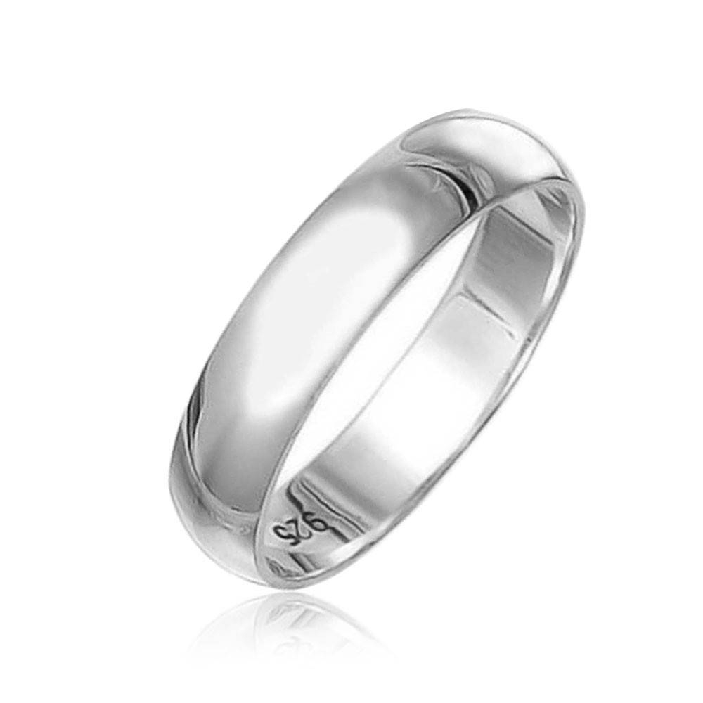 Wedding Ring Setheart Ring Love Ring Sterling Silver Wedding Bands Within Silver Wedding Bands For Him (View 3 of 15)