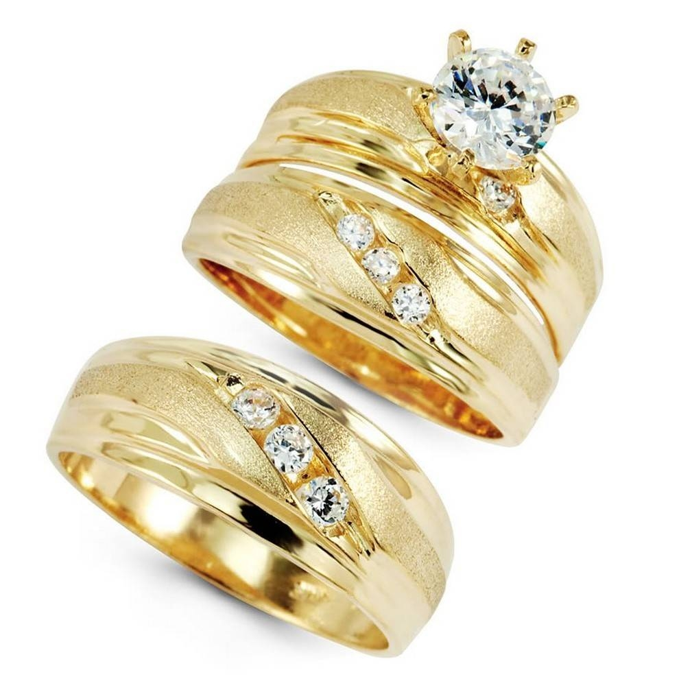 Wedding Ring Sets For Women – Wedding Definition Ideas Throughout Gold Wedding Rings For Women (View 12 of 15)