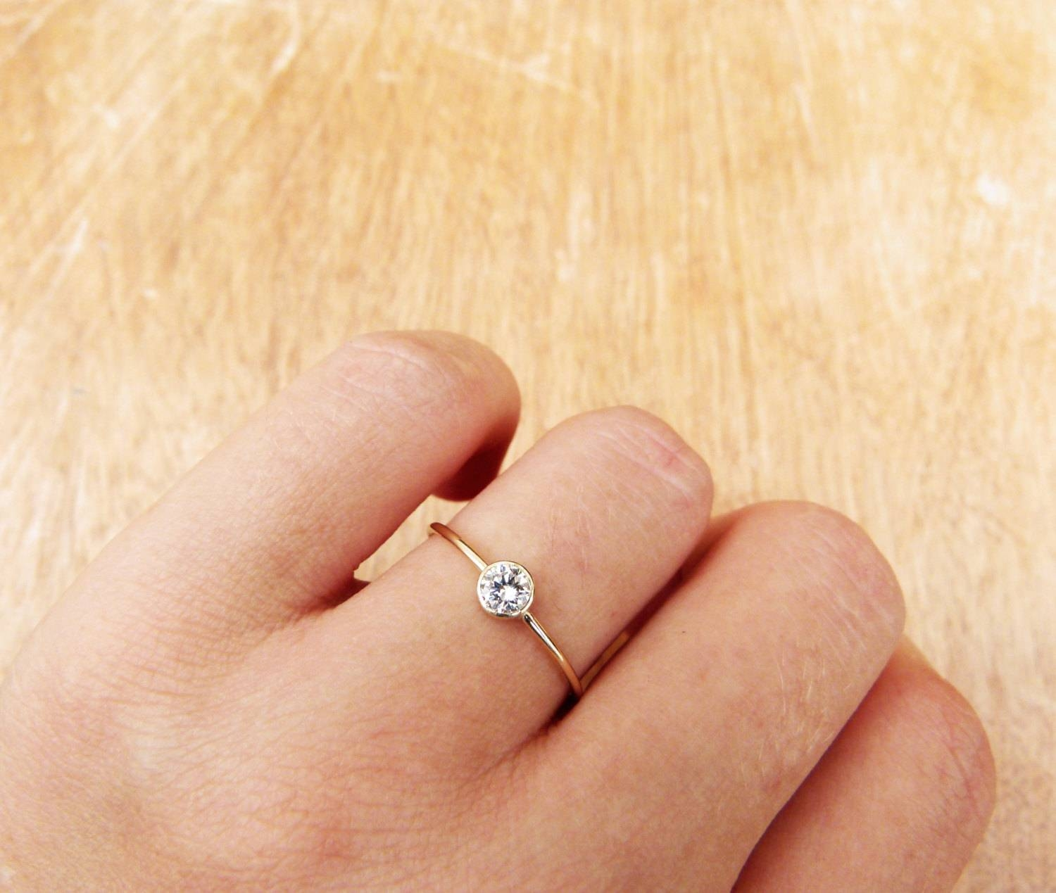 Wedding Rings : Affordable Engagement Rings Under $300 Used In Small Size Engagement Rings (View 7 of 15)