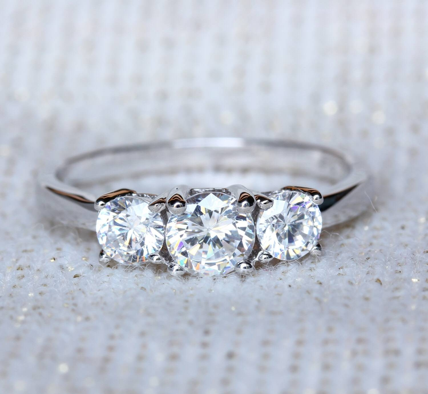 Wedding Rings : Balance Lab Grown Diamond Engagement Ring Lab Within Lab Diamonds Engagement Rings (Gallery 13 of 15)
