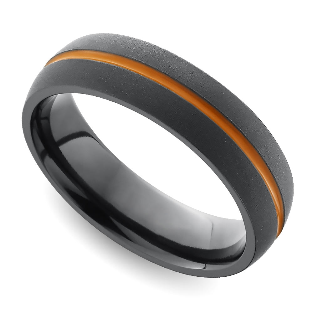 Wedding Rings : Black Gold Wedding Band Kay Jewelers Wedding Rings Throughout Most Popular Trendy Mens Wedding Bands (View 13 of 15)