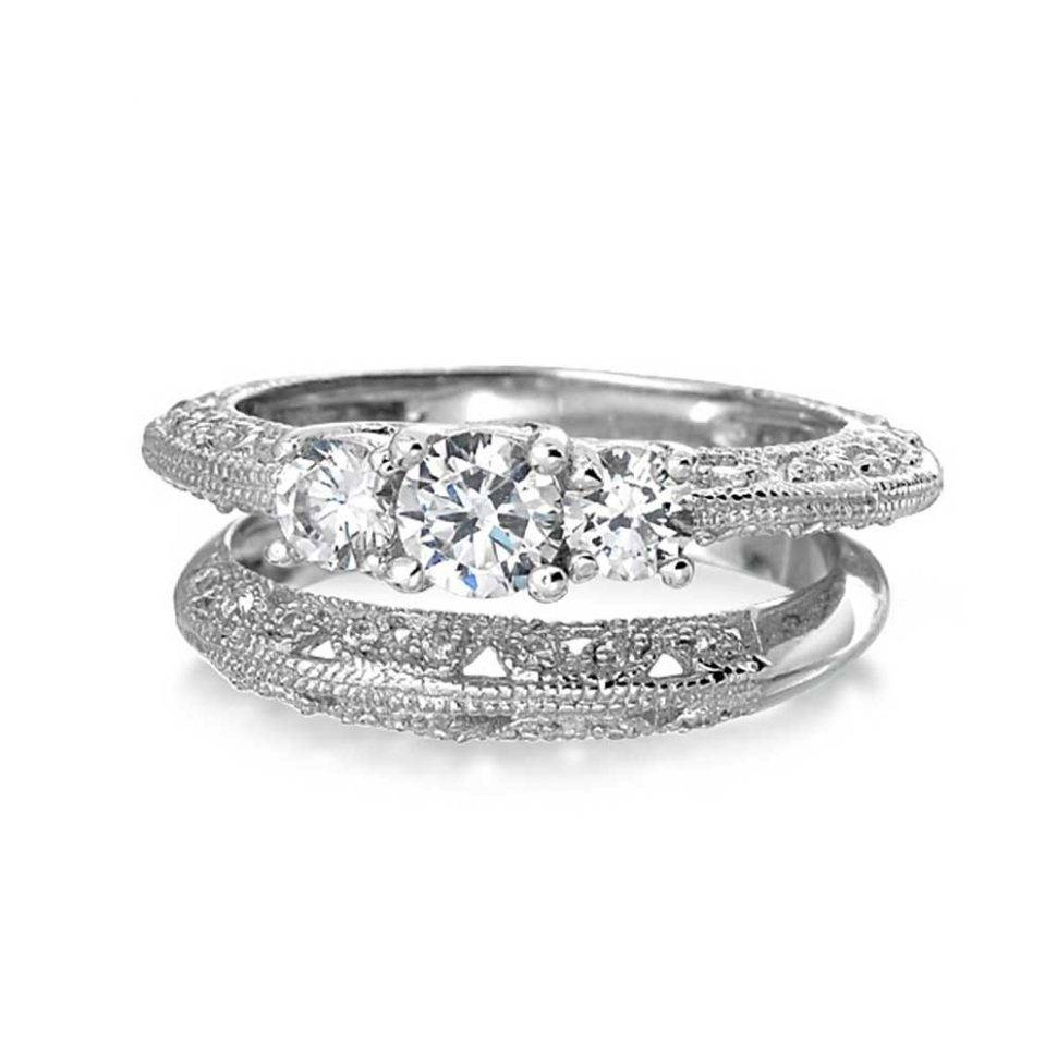 Wedding Rings : Engagement Ring Settings Ring Settings Without In Best And Newest Wedding Band Setting Without Stones (View 8 of 15)
