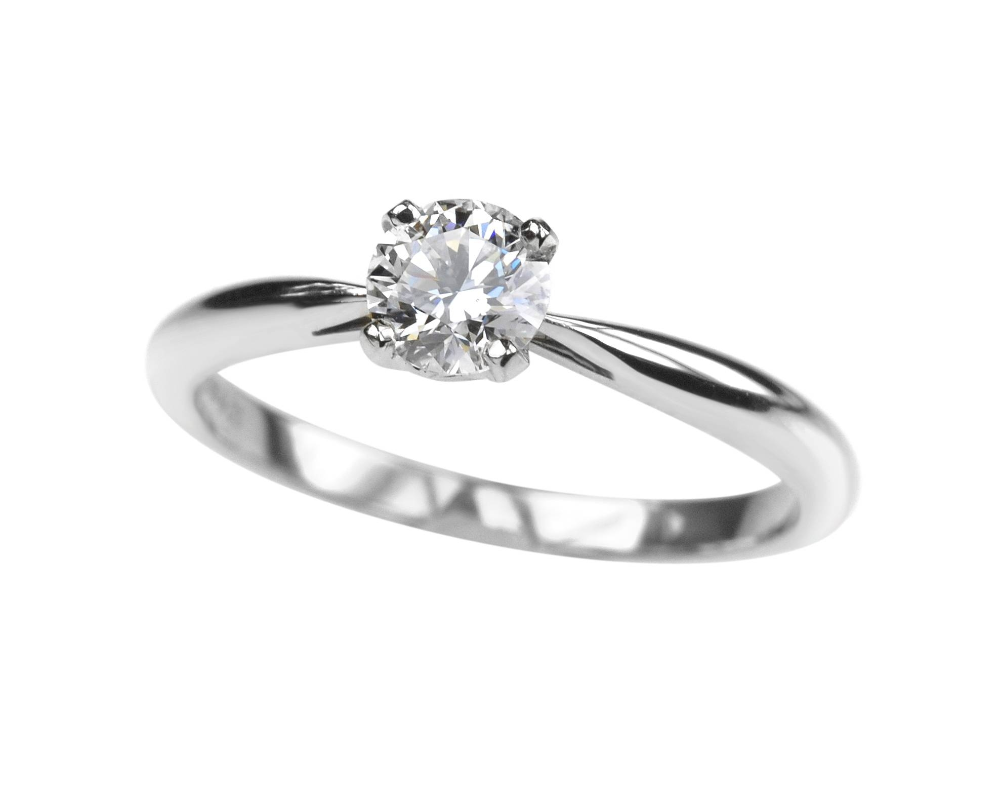 sterling rings silver awesome diamond single luxury ring simple engagement of delicate