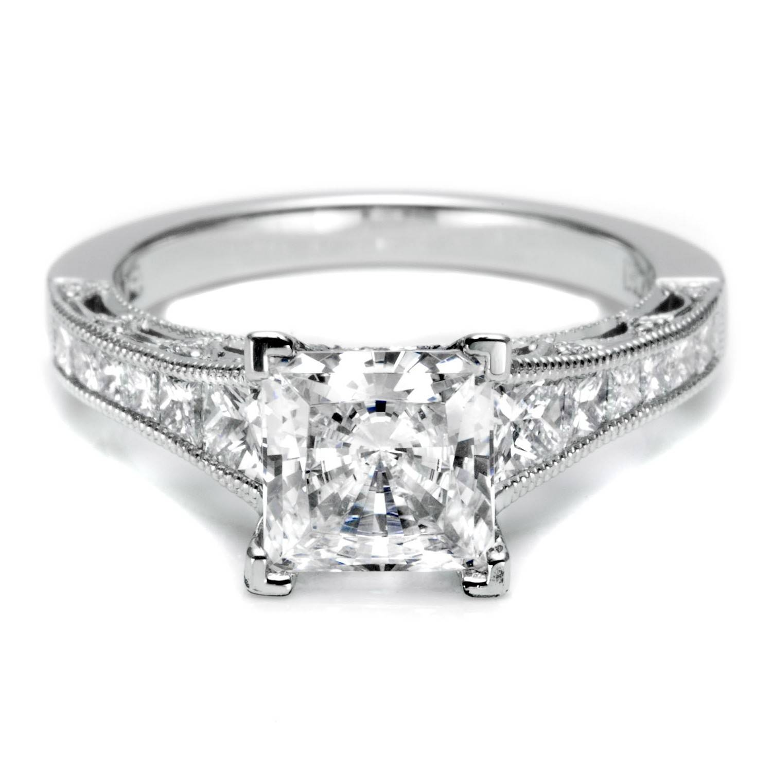 Wedding Rings : Engagement Rings Princess Cut Kay Jewelers Wedding With Regard To Simple Modern Engagement Rings (View 11 of 15)