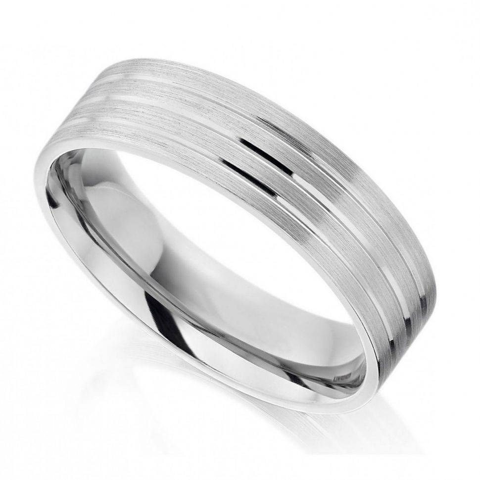 Wedding Rings : Estate Mens Wedding Bands Diamond Mens Platinum Pertaining To Current Mens Wedding Bands Platinum With Diamonds (View 13 of 15)