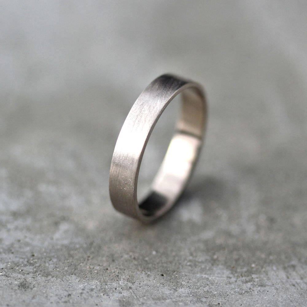 Wedding Rings : Hammered Palladium Mens Wedding Band Palladium Vs With 2018 Palladium Wedding Bands For Women (View 11 of 15)