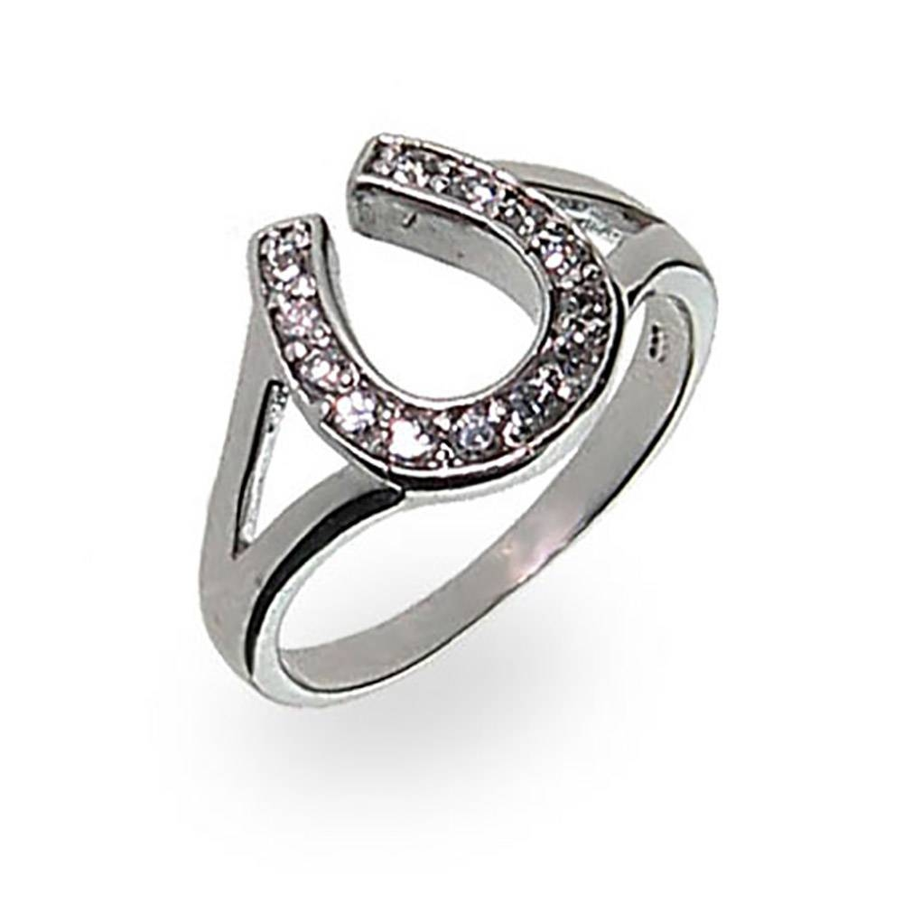 Wedding Rings : Horseshoe Engagement Ring Mens Horseshoe Ring For Horseshoe Diamond Engagement Rings (View 9 of 15)