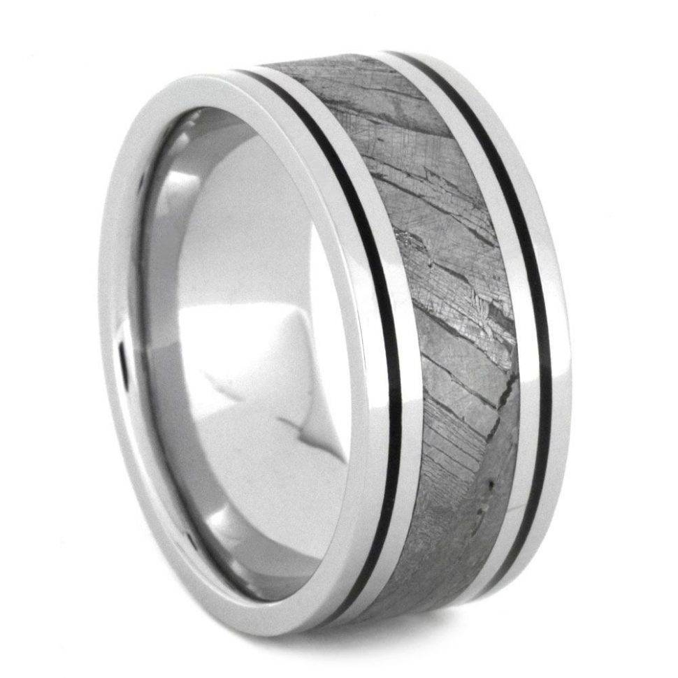Wedding Rings : Mens Black Tungsten Wedding Bands Unique Wedding For 2018 Men Platinum Wedding Bands (View 12 of 15)