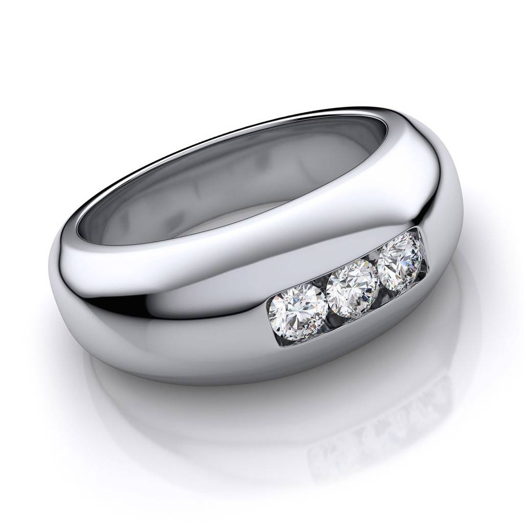 Wedding Rings : Mens Gold Wedding Rings Mens Wedding Bands Inside 2018 Mens Wedding Bands Platinum With Diamonds (View 14 of 15)