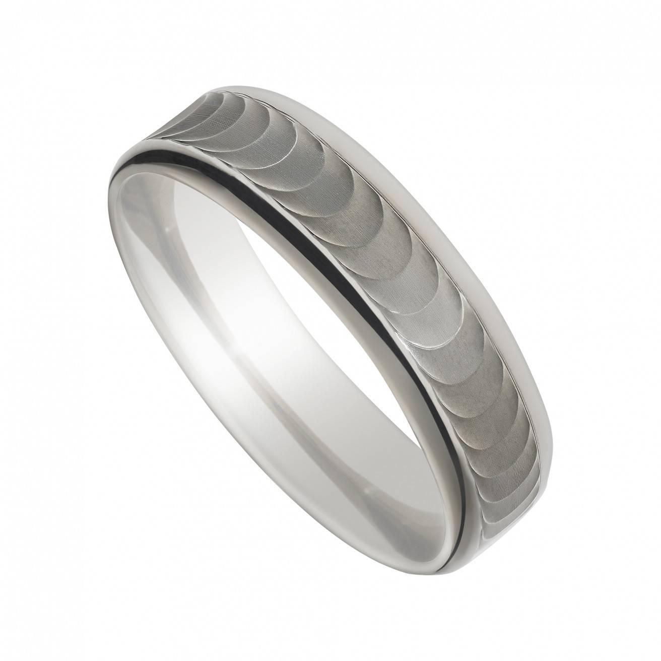 Featured Photo of Mens Wedding Rings Palladium