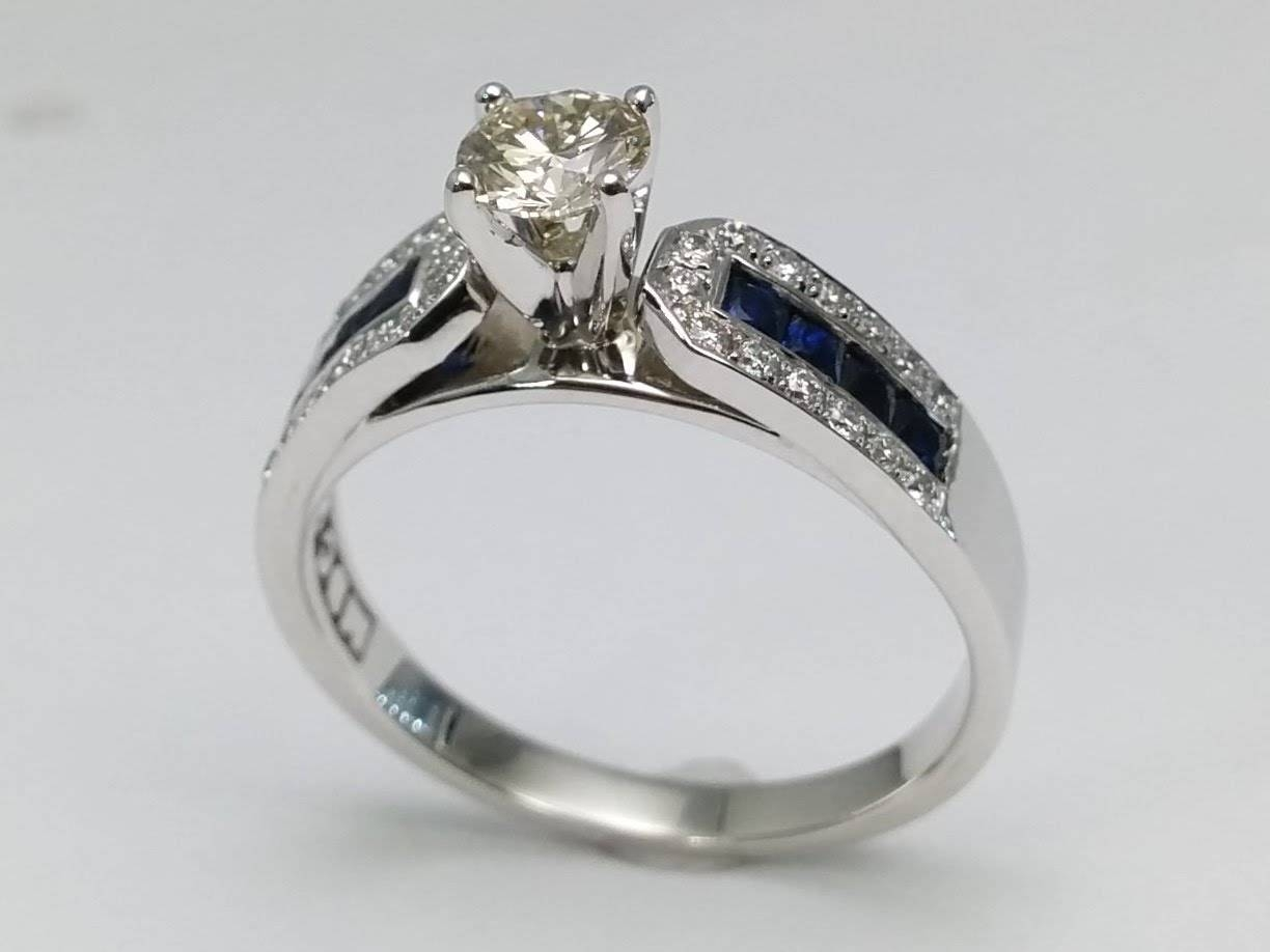 Wedding Rings : Mens Silver Horseshoe Ring Horse Diamond With Regard To Horseshoe Diamond Engagement Rings (View 14 of 15)