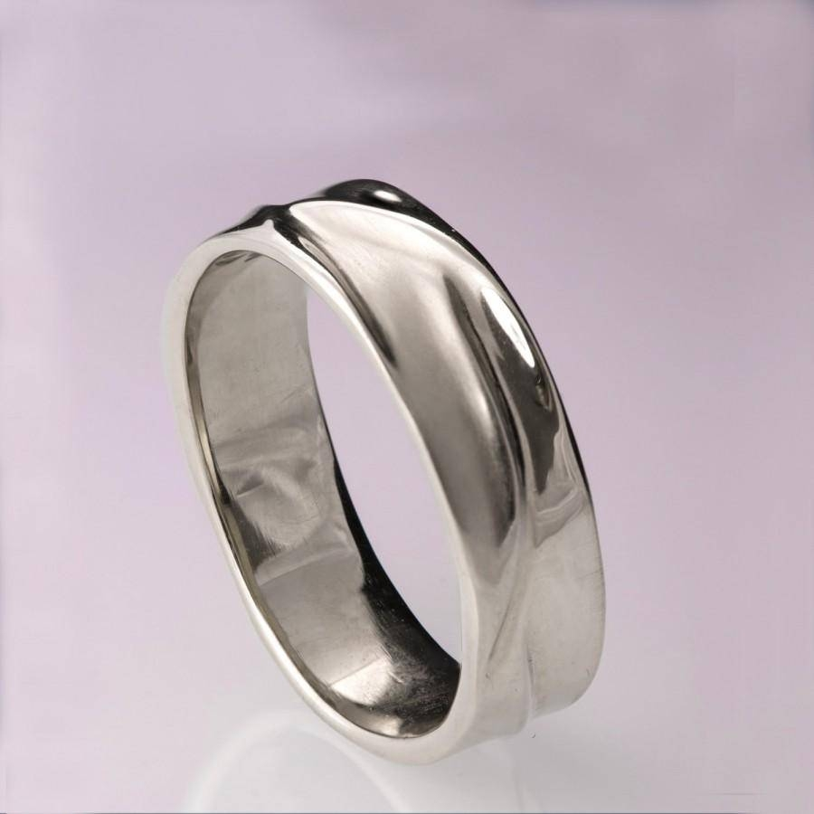 Wedding Rings : Mens Wedding Bands Titanium Mens Tungsten Carbide With Newest Wedding Band Mens Platinum (View 11 of 15)