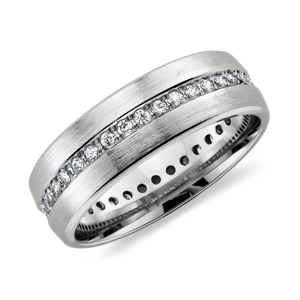 Wedding Rings : Mens Wedding Rings Diamond Mens Black Diamond Intended For Diamond Mens Wedding Bands (View 14 of 15)