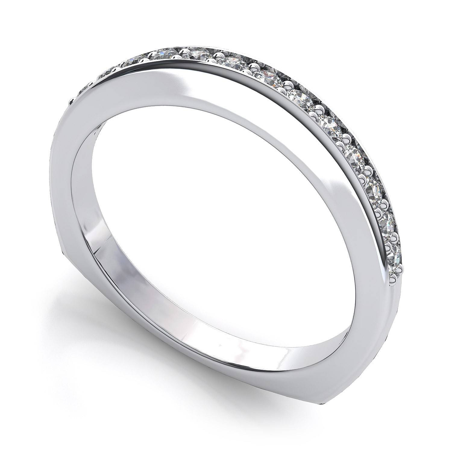 Wedding Rings : Micro Pave Wedding Band Platinum Micro Pave With Regard To Newest Pave Setting Wedding Bands (View 13 of 15)