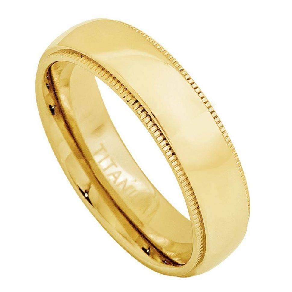 Wedding Rings : Plain 14K Gold Wedding Bands Womens Wedding Rings For Recent Womens Plain Wedding Bands (View 13 of 15)
