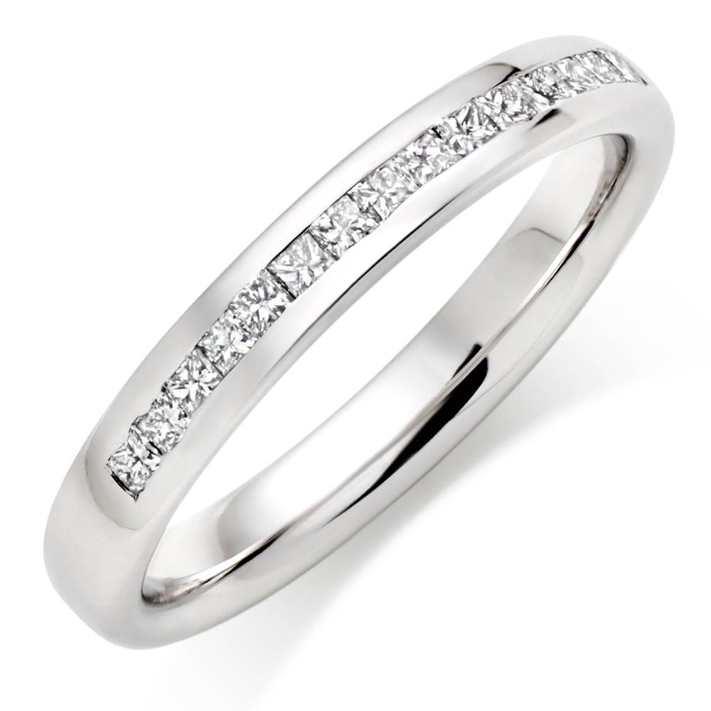 Wedding Rings : Platinum Rings Wedding Rings Selecting The Throughout Women's Platinum Wedding Bands (View 14 of 15)