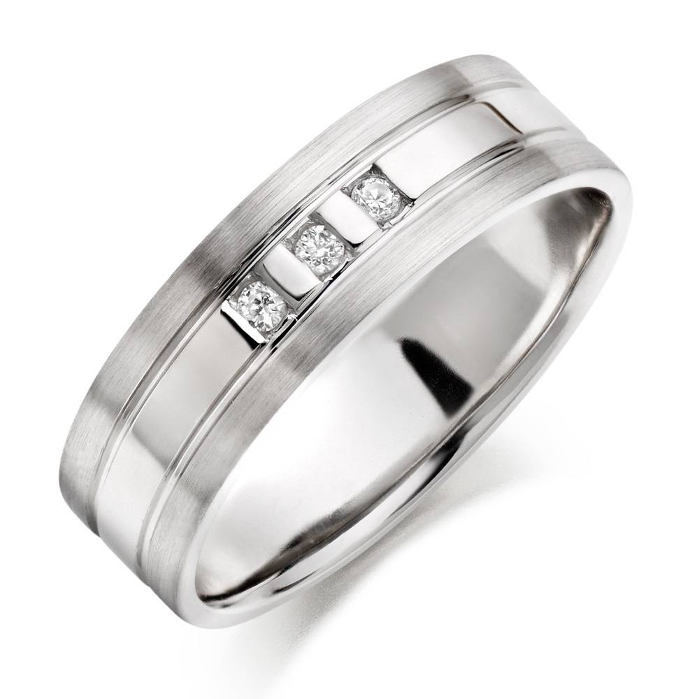 Wedding Rings : Platinum Wedding Ring Men Wedding Engagement Rings For Silver Wedding Bands For Him (View 14 of 15)