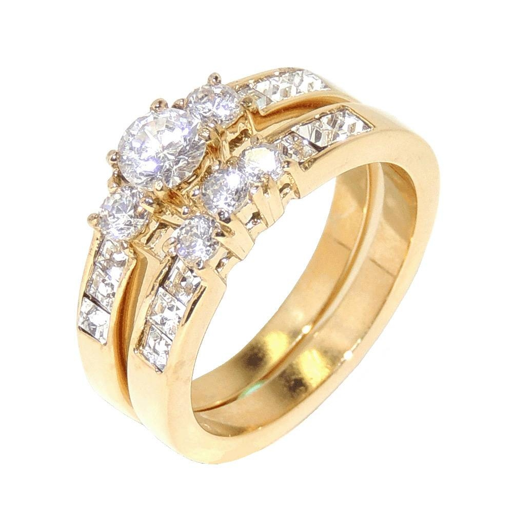 Wedding Rings Sets For Men And Women Best Design | Wedding Ring Ideas Within Gold Wedding Rings For Women (View 14 of 15)