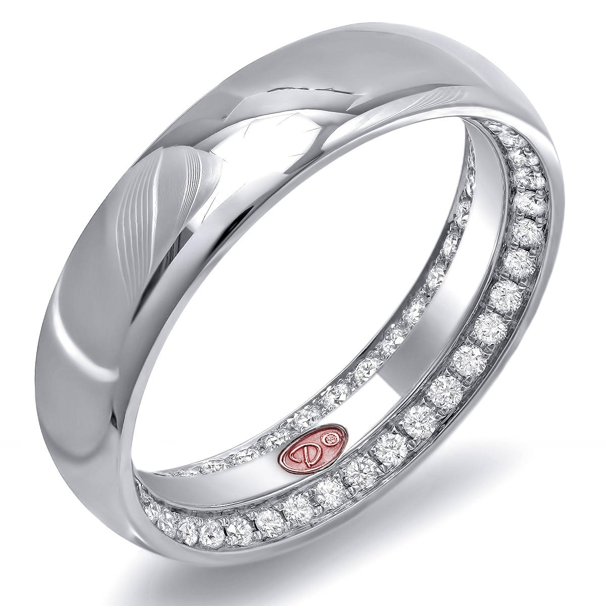 kaystore round mv gold cut to carat wedding en white bands ring kay diamond zoom platinum band zm solitaire cost hover
