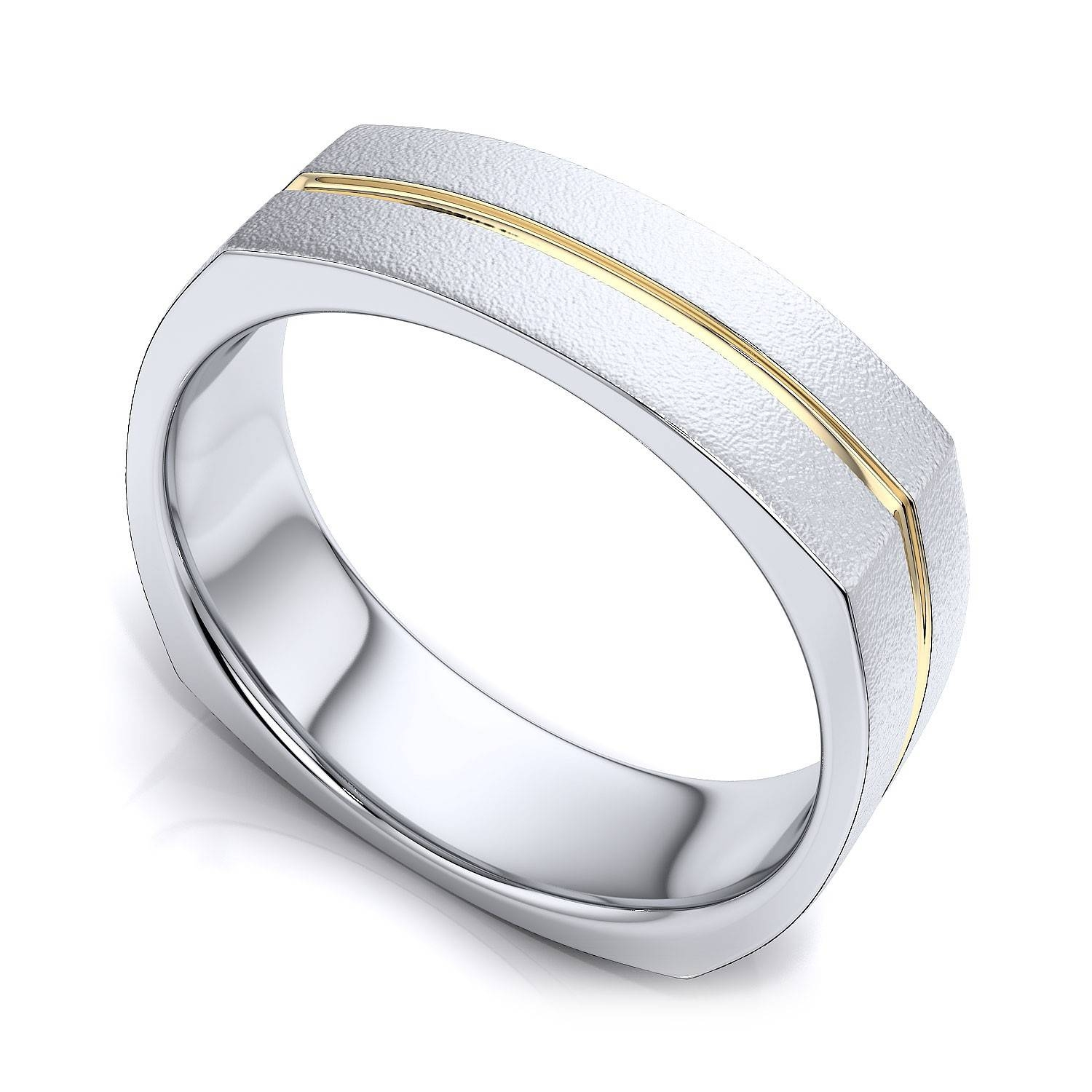 Wedding Rings : Trio Wedding Ring Sets Jared Cool Fashion Rings In Two Tone Men Wedding Bands (View 14 of 15)