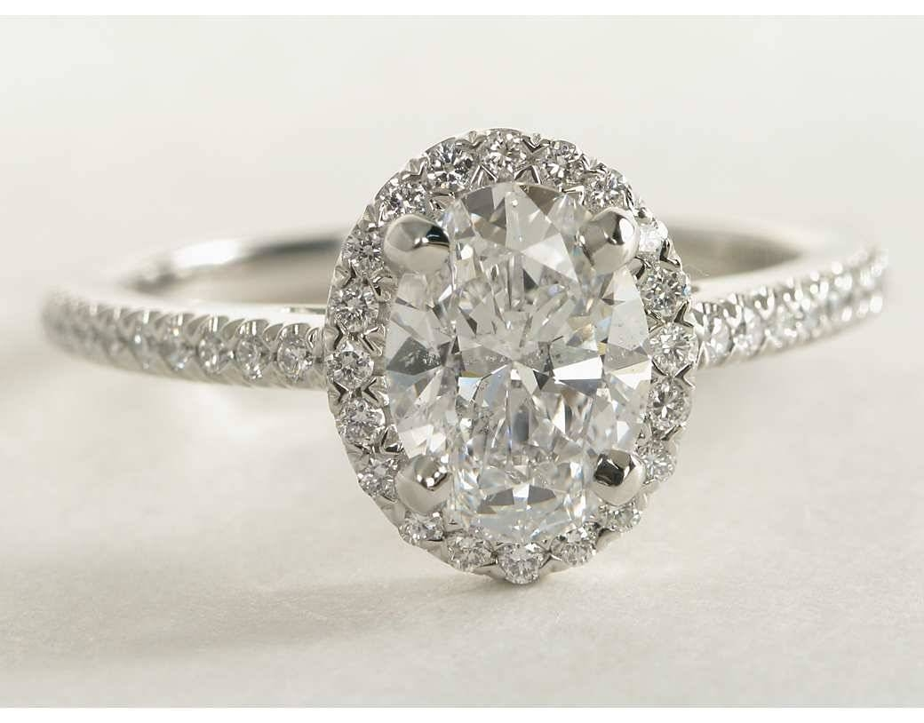 Wedding Rings : Vintage Oval Diamond Ring (View 15 of 15)