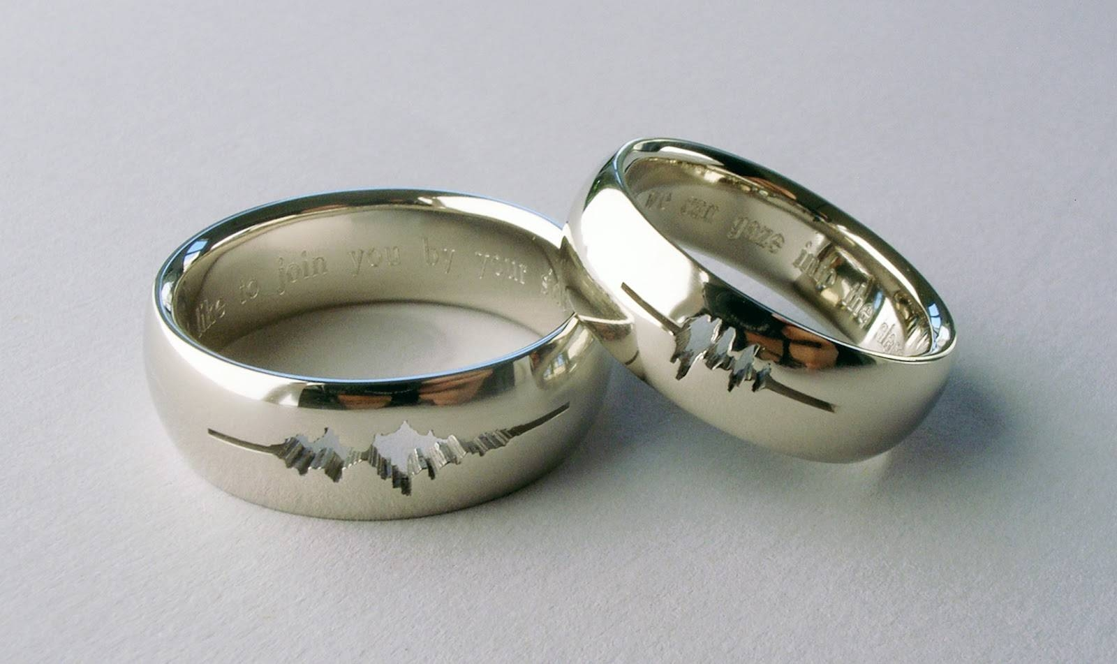 Wedding Rings : Wedding Ring Trio Sets Cheap Bridal Sets His And For Wedding Bands On Sale (View 15 of 15)
