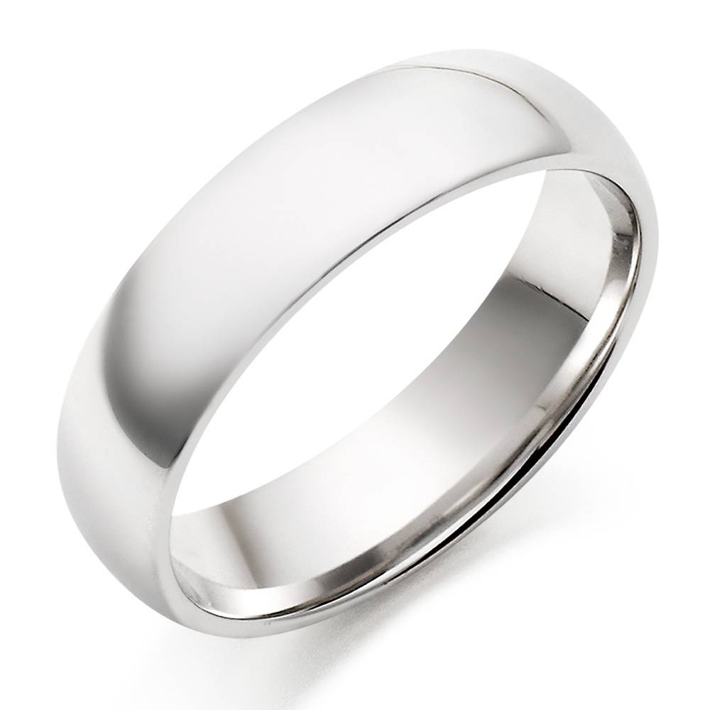 Featured Photo of White Gold Men Wedding Rings