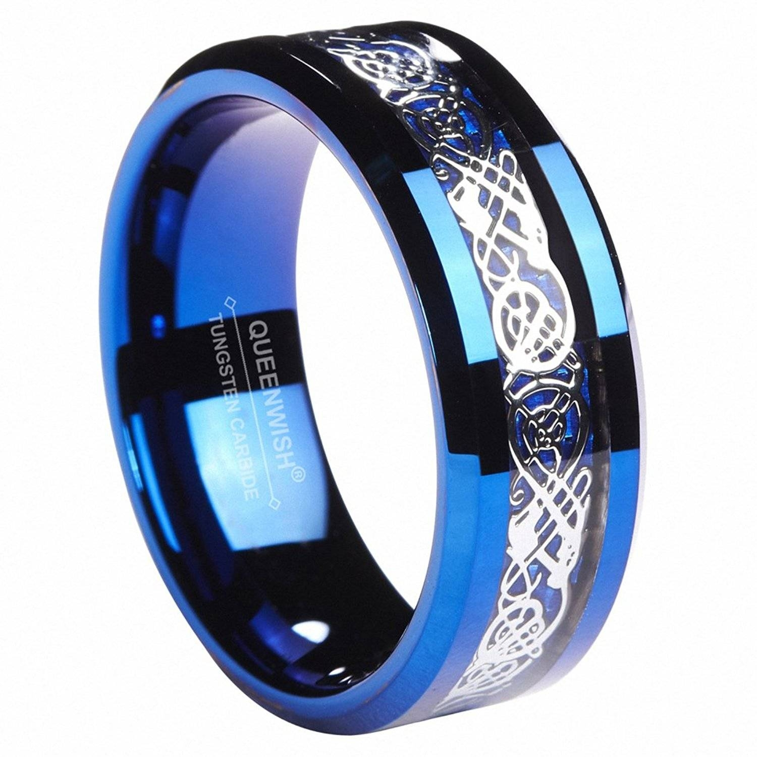 Wedding Rings : White Gold Wedding Bands For Men Expensive Wedding Throughout Blue Wedding Bands For Men (View 7 of 15)