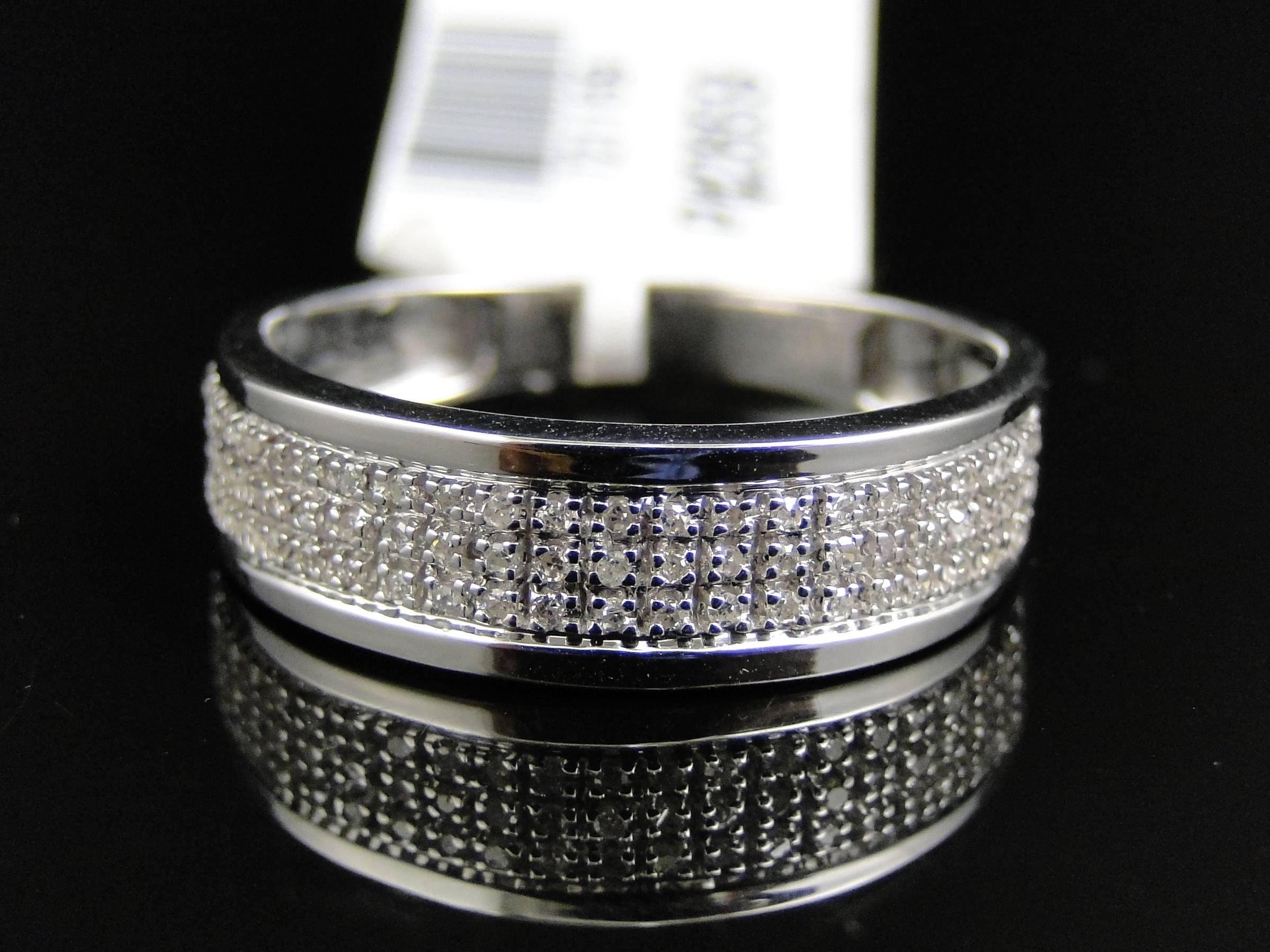 Wedding Rings : White Gold Wedding Ring Men Discount Wedding Rings For Diamond Wedding Bands For Him (Gallery 11 of 15)