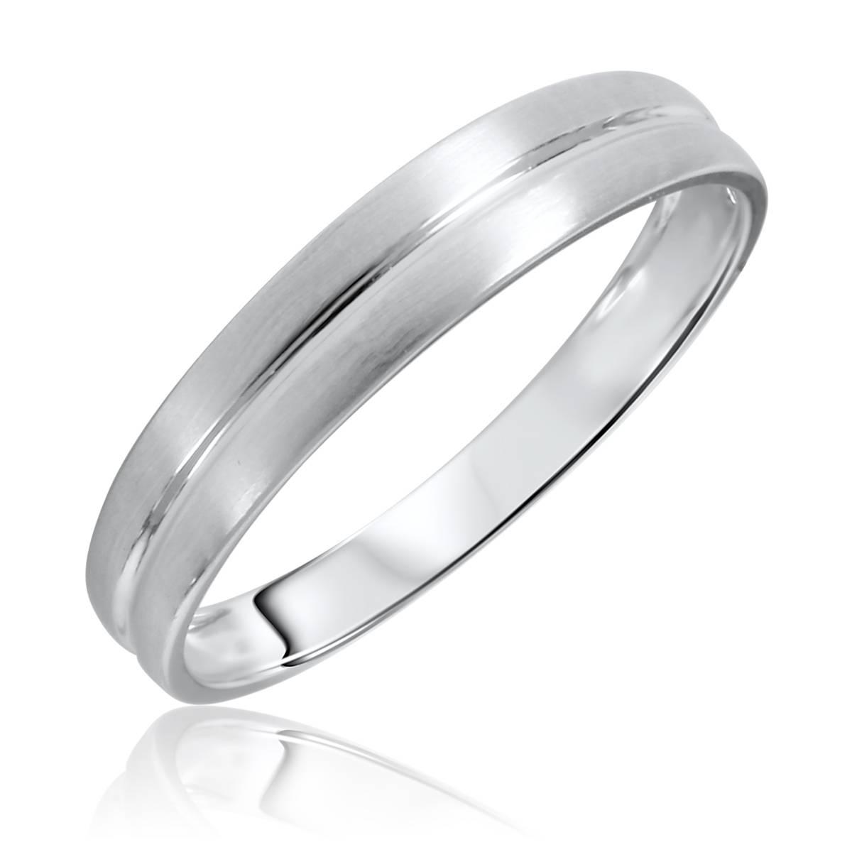 Wedding Rings : White Gold Wedding Ring Men Discount Wedding Rings Throughout White Gold Wedding Bands For Men (View 6 of 15)