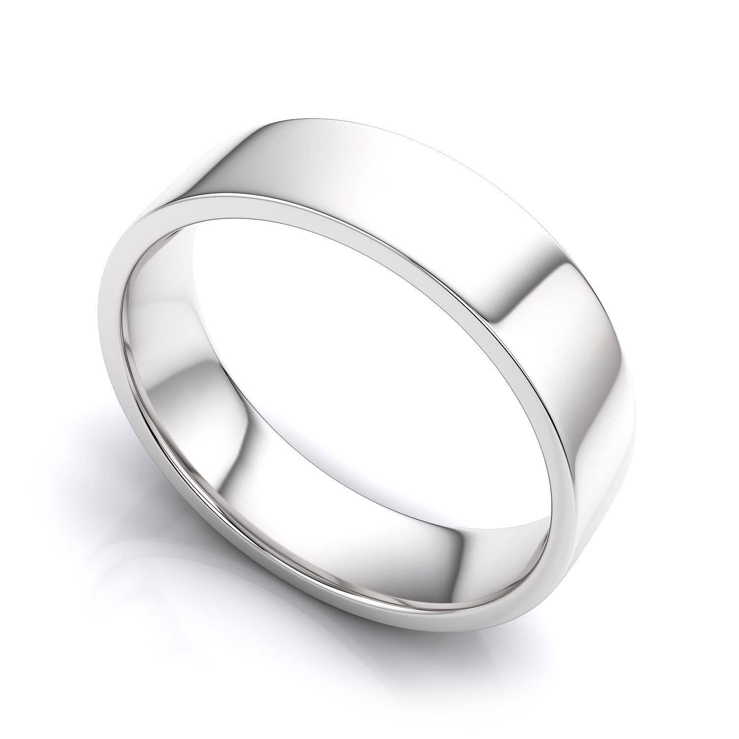 Wedding Rings : White Gold Wedding Ring Men Discount Wedding Rings With White Gold Plain Wedding Bands (View 14 of 15)