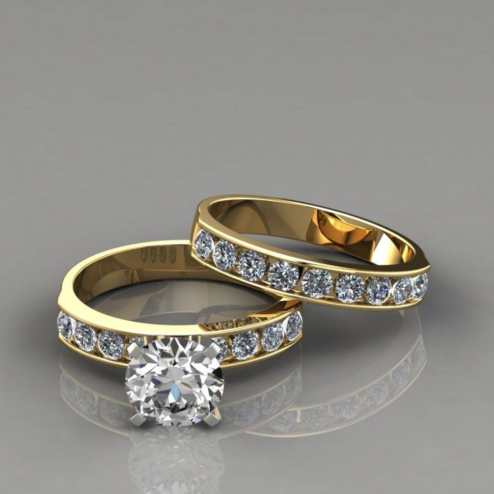 Wedding Rings : White Gold Wedding Ring Sets How To Wear For Do Guys Get Engagement Rings (View 15 of 15)