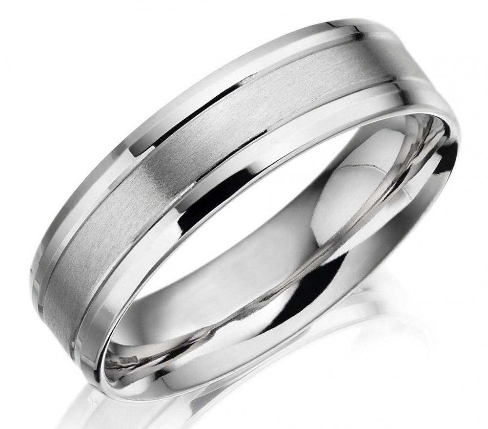 Featured Photo of Palladium Wedding Bands For Women