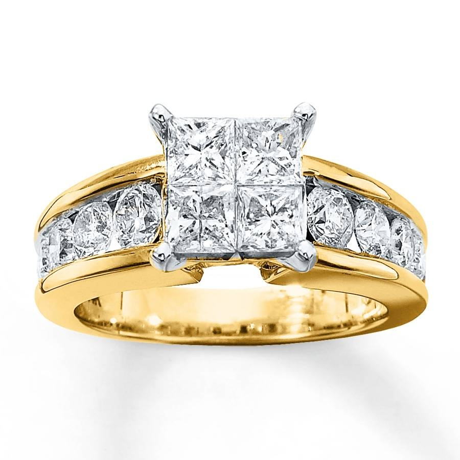 Wedding Rings : Yellow Diamond Chips Contact Yellow Diamond Gem With Regard To 2018 Diamond Chip Wedding Bands (View 4 of 15)