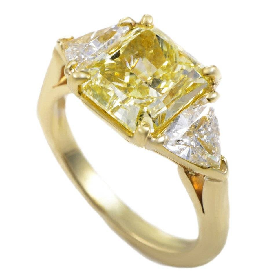 Wedding Rings : Yellow Diamond Chips Contact Yellow Diamond Wiki For 2017 Diamond Chip Wedding Bands (View 5 of 15)
