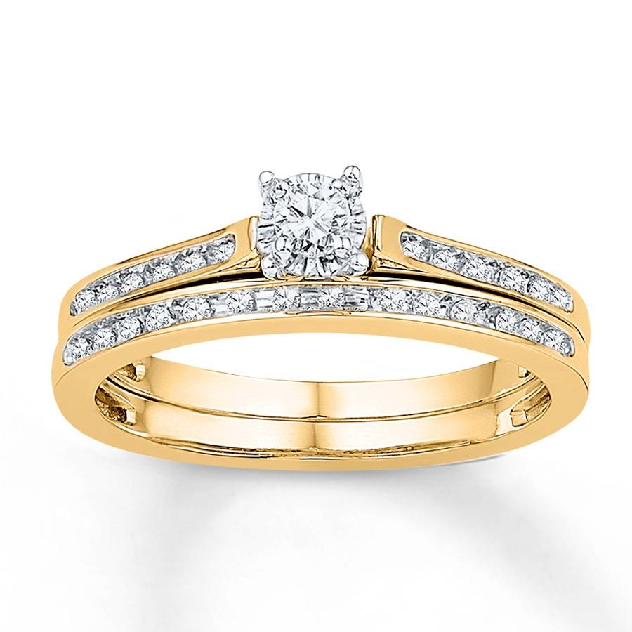 Wedding Rings : Zales Bridal Sets Cheap Bridal Jewelry Sets With Latest Yellow Gold Wedding Band Sets (View 14 of 15)