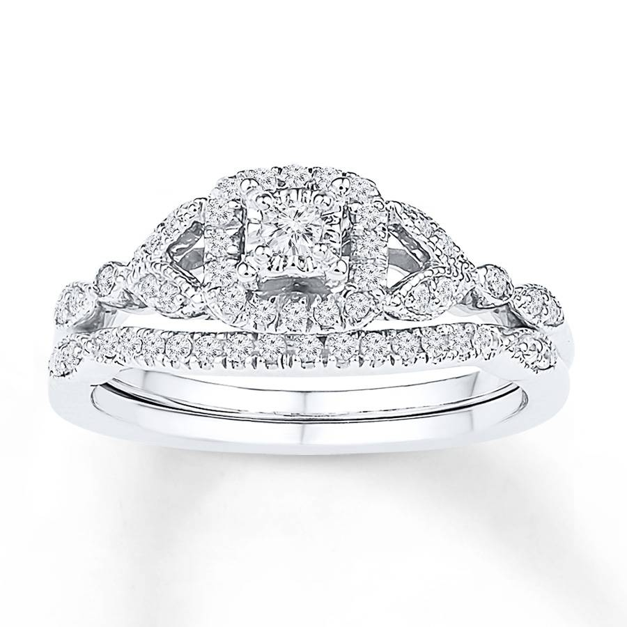 Wedding Sets On Sale Tags : Engagement Wedding Ring Sets White For White Gold Diamond Wedding Ring Sets (View 14 of 15)