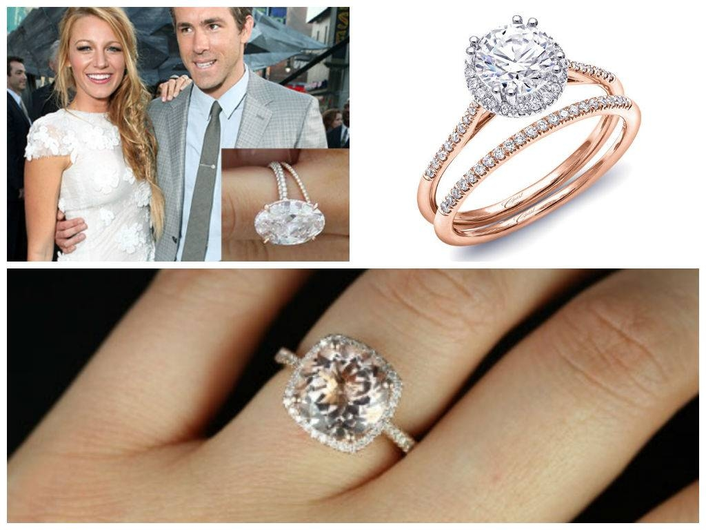 Wedding Wednesday: Going Rose Gold | Hyatt Regency Mccormick Place Inside Newest Style Engagement Rings (View 1 of 15)