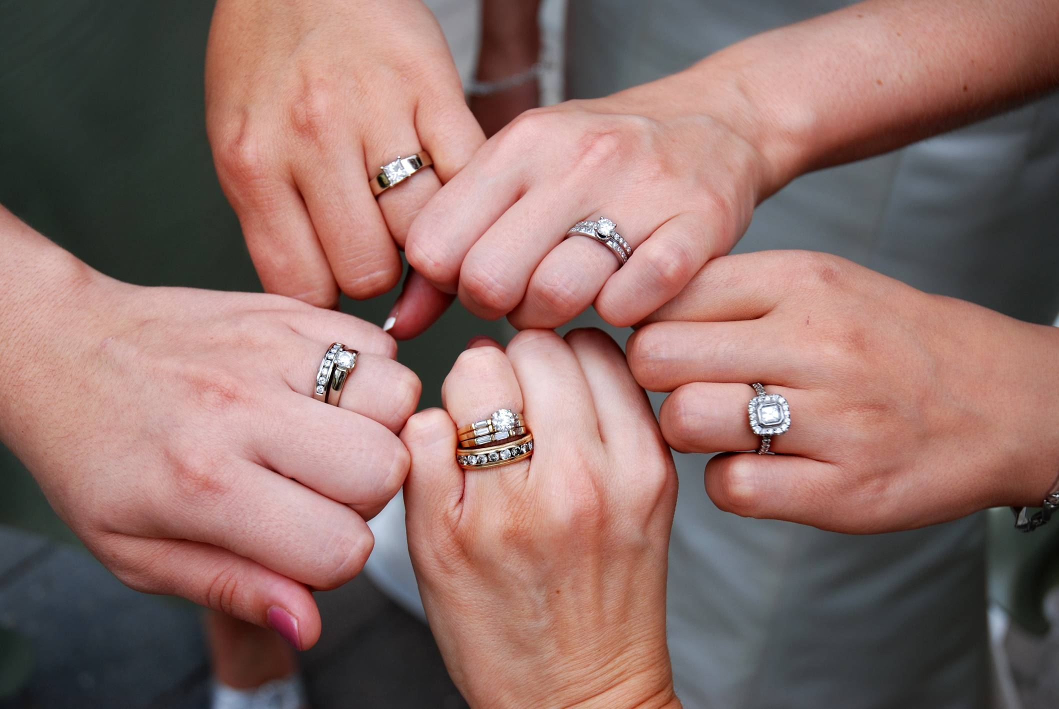 What's The Alternative To Wearing Two Rings? | Easy Weddings Uk Regarding Recent Eternity Rings With Wedding Bands (View 4 of 15)