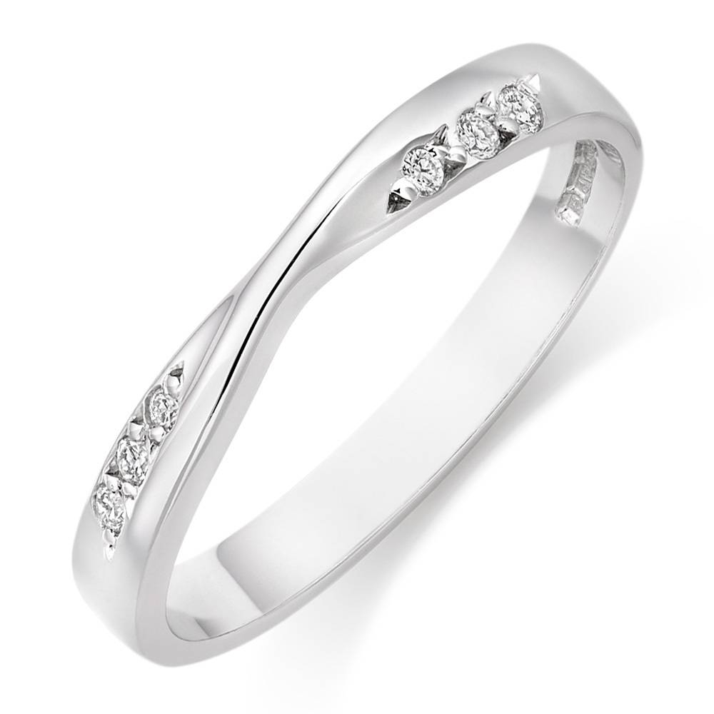 Cheap Wedding Bands For Women: 15 Best Ideas Of Cheap White Gold Wedding Rings