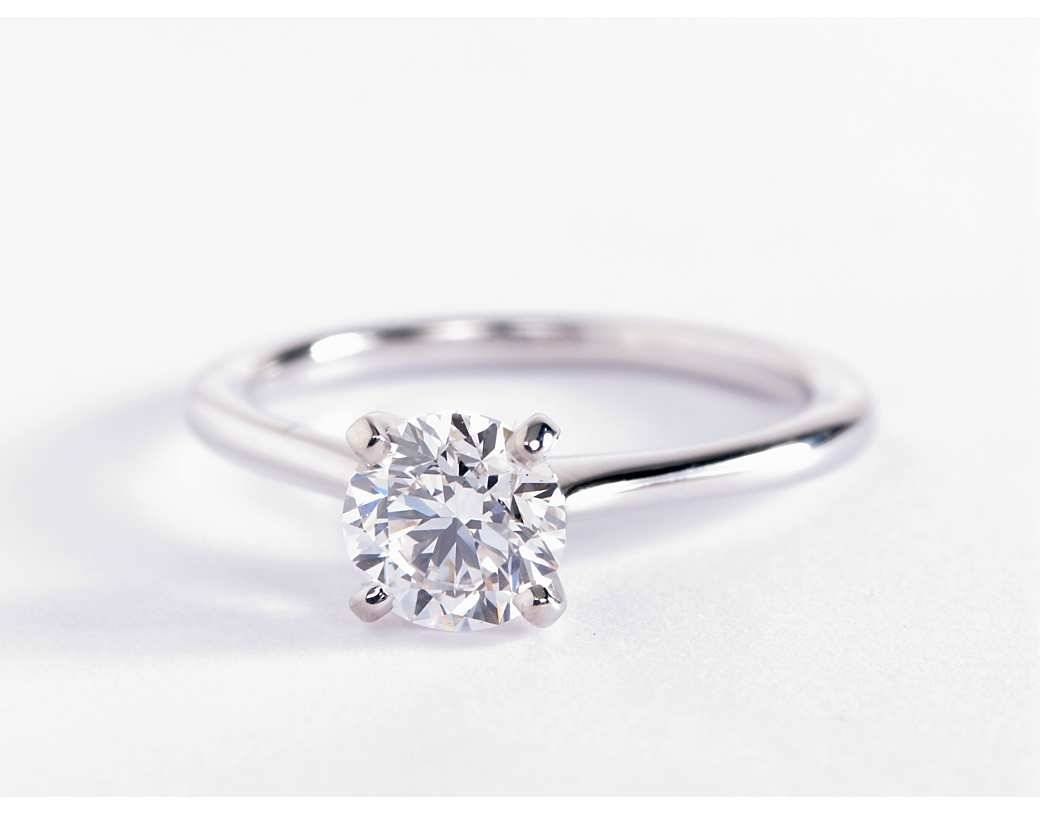 White Gold Engagement Rings | Wedding, Promise, Diamond Pertaining To 14K White Gold Engagement Rings (View 15 of 15)