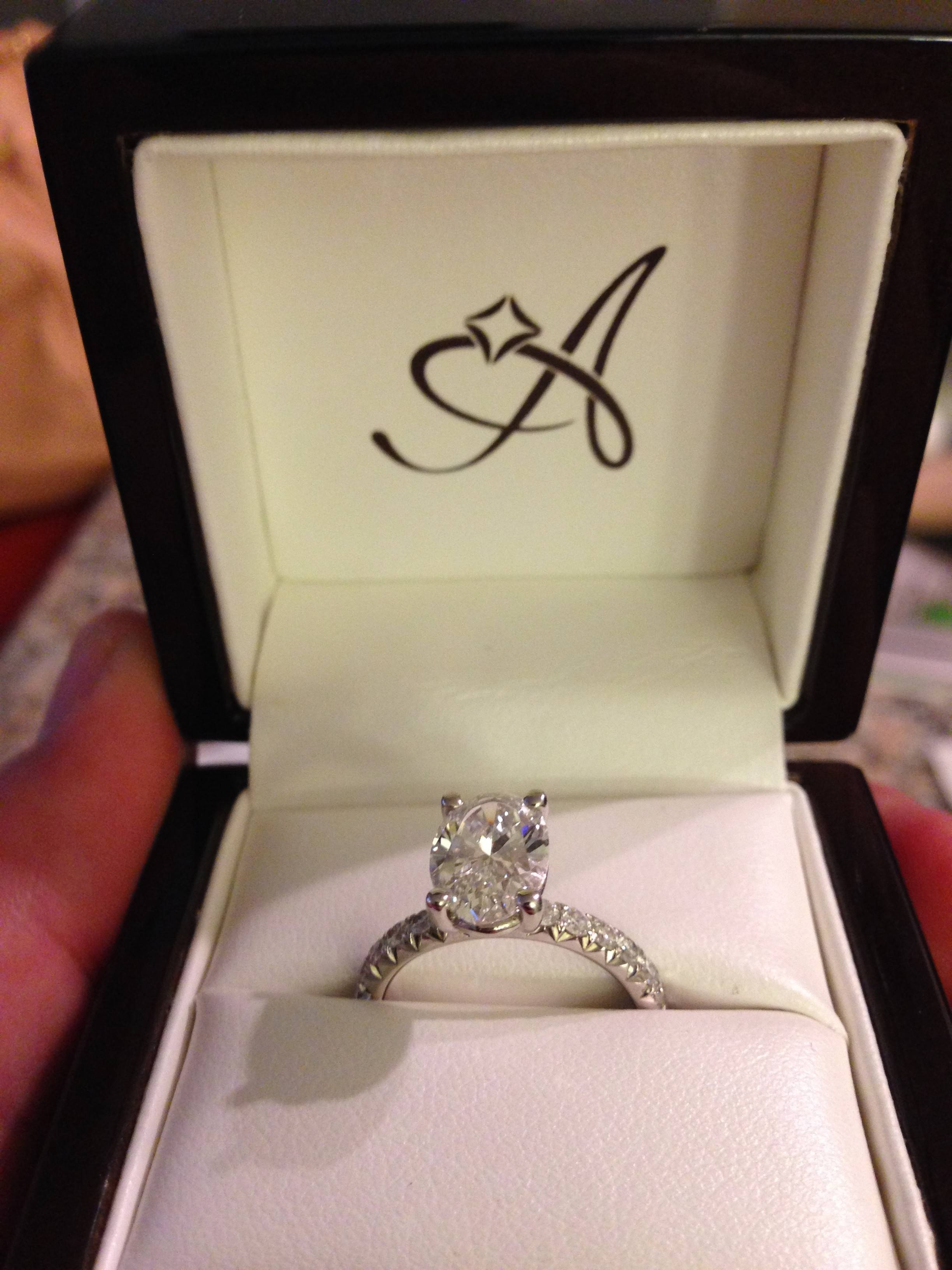 Featured Photo of Engagement Rings In The Box