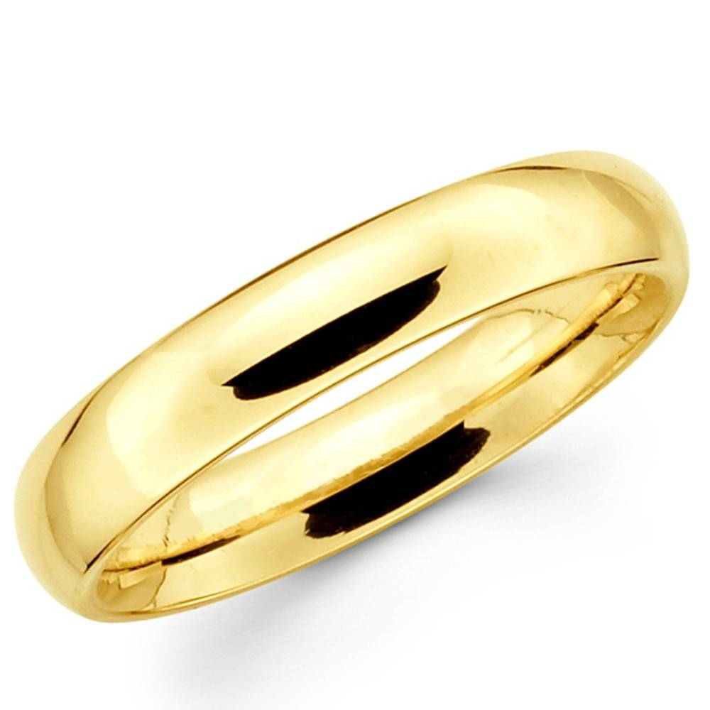 Women Plain Wedding Band | Lake Side Corrals Regarding Women's Plain Wedding Bands (View 10 of 15)