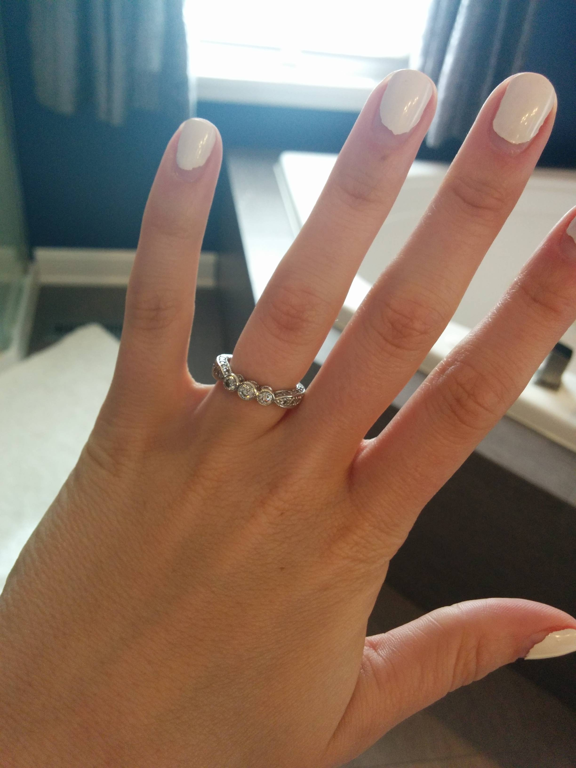 10Th Anniversary Ring Upgrade Help! – Weddingbee Throughout Most Recently Released One Year Anniversary Rings (View 1 of 25)