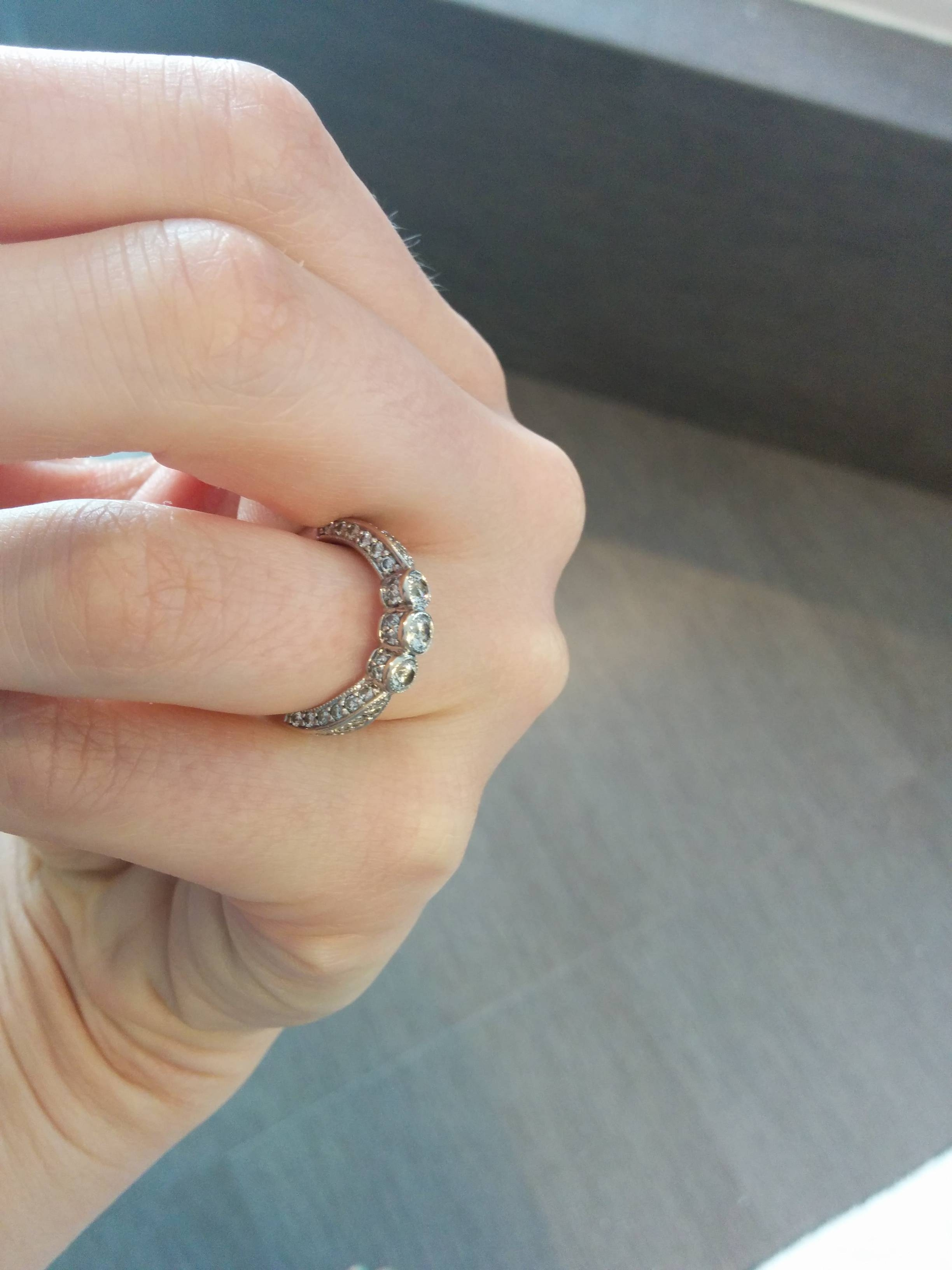 10Th Anniversary Ring Upgrade Help! – Weddingbee With Regard To Latest 10Th Anniversary Rings (View 2 of 15)