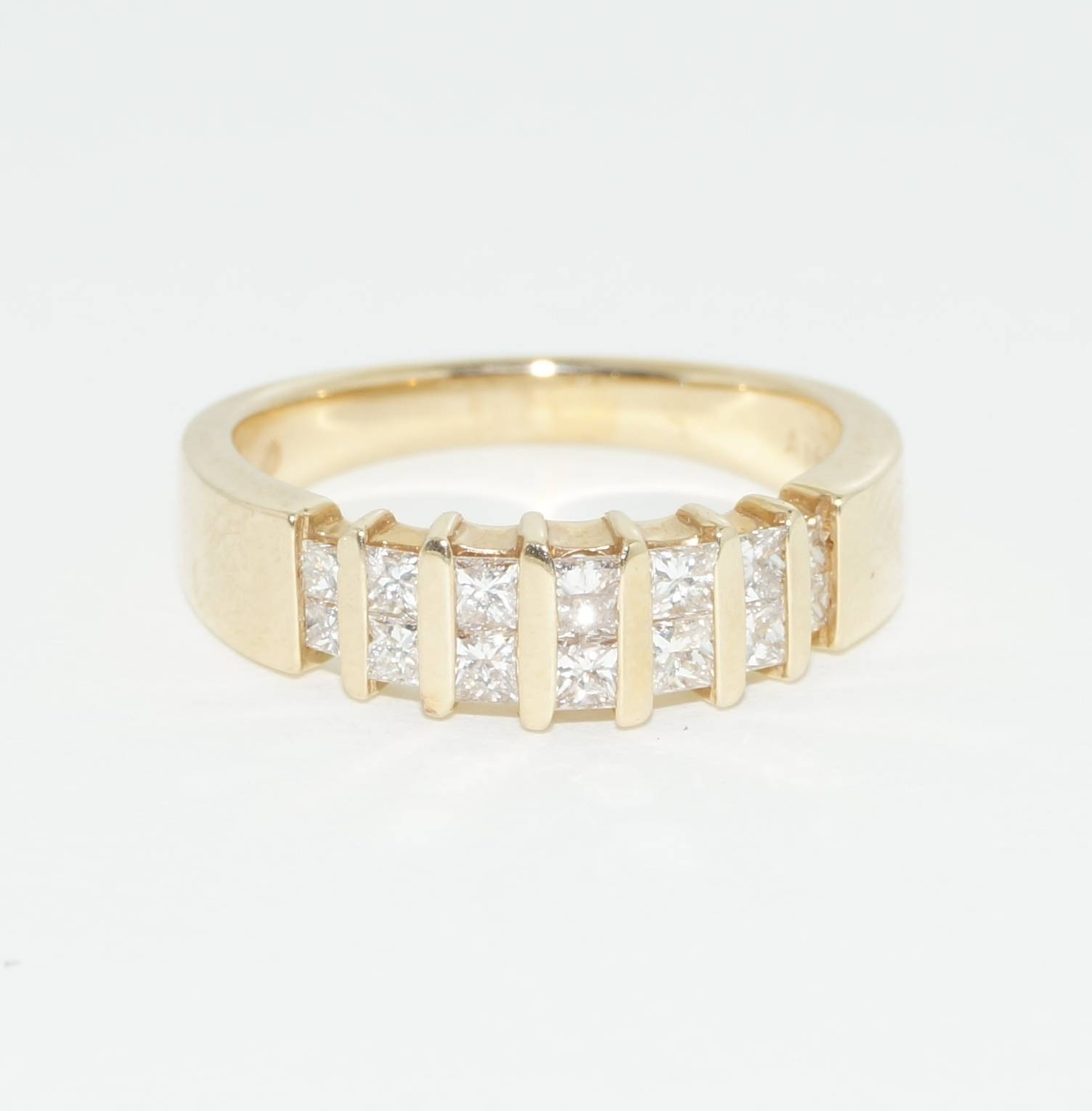 14K Solid Yellow Gold  (View 1 of 25)