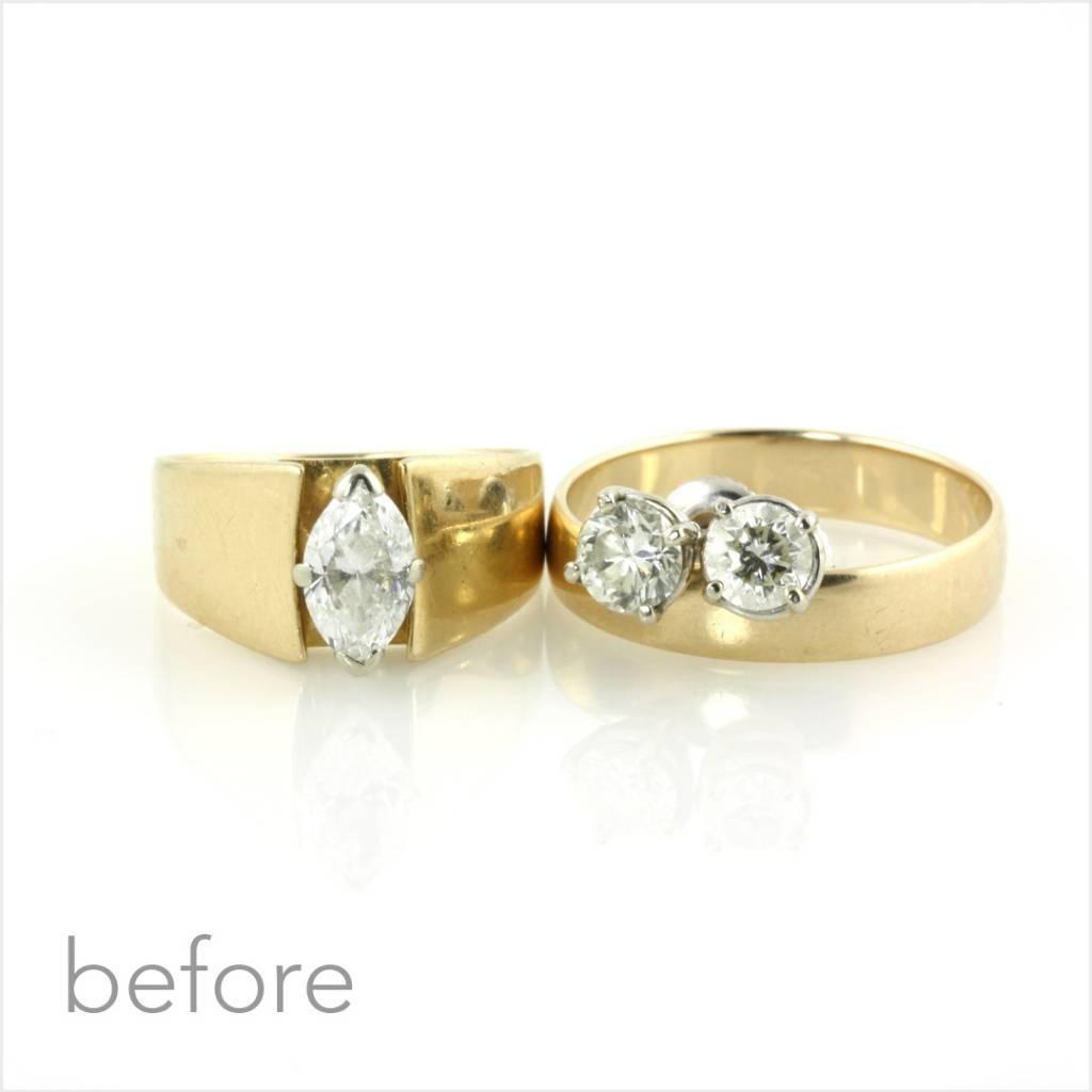 25Th Anniversary Rings – Kara | Daniel Jewelry With Regard To 2017 25 Year Wedding Anniversary Rings (Gallery 1 of 25)